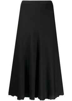 Theory high-waist flared skirt
