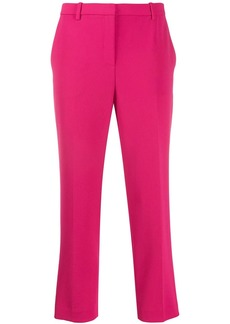 Theory high waisted cropped trousers