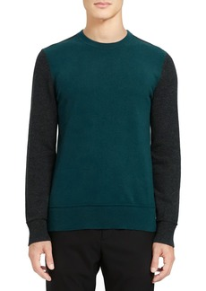 Theory Hilles Standard Fit Crewneck Cashmere Sweater