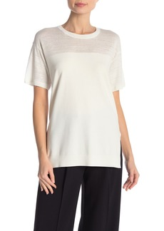 Theory Hilson Short Sleeve Knit Top