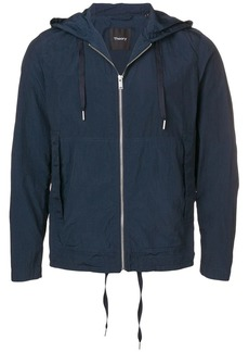 Theory hooded lightweight jacket