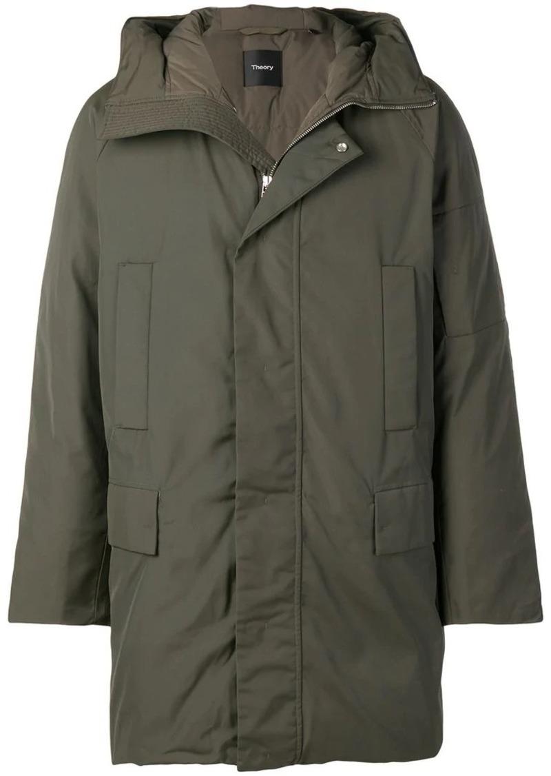 cebf8b6ec9 SALE! Theory hooded padded coat