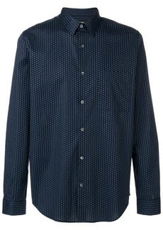 Theory Irving dot print shirt