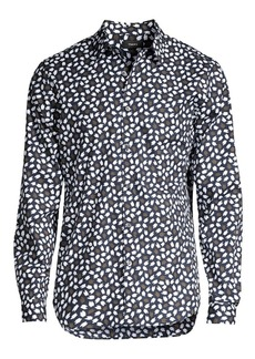 Theory Irving Floral Shirt