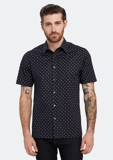 Theory Irving Short Sleeve Button Down Shirt - M - Also in: XXL, L, XL, S