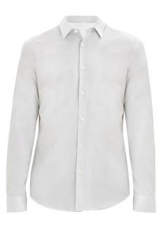 Theory Irving Slim-Fit Micro Dot Shirt