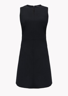 Theory Italian Stretch Wool Split Front Dress