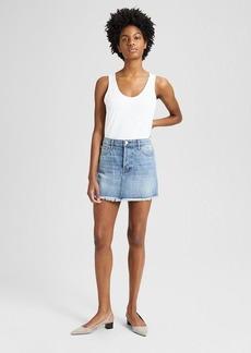 Theory J Brand Bonny Denim Mini Skirt