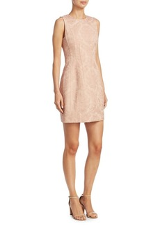 Theory Jacquard Sheath Dress