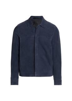 Theory Jamie Regular-Fit Suede Jacket
