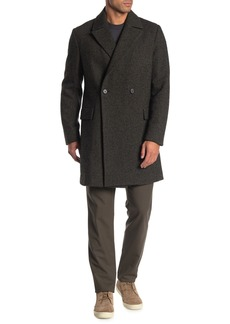 Theory Keithe Peppery Twill Coat