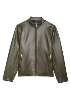 Theory Kellerherm Leather Jacket