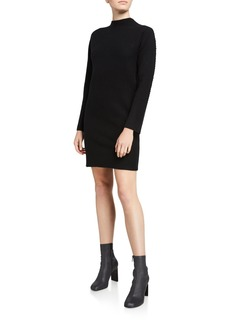 Theory Kimono Turtleneck Long-Sleeve Dress
