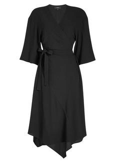 Theory Kimono Wrap Dress