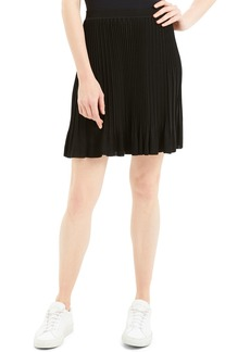 Theory Knit Pleated Pull-On Skirt