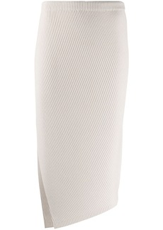 Theory knitted pencil skirt