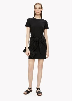 Theory Knotted T-Shirt Dress