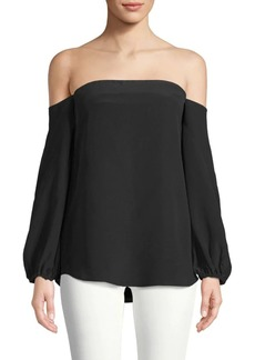Theory Laureema Off-The-Shoulder Top