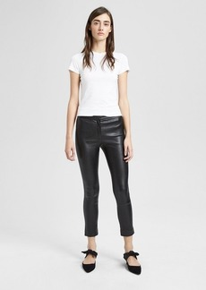 Theory Leather Classic Skinny Pant
