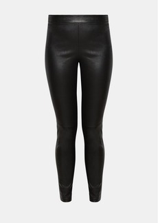 Theory Leather Pull-On Legging