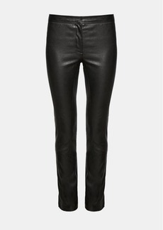 Theory Leather Riding Pant