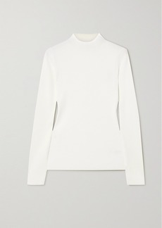 Theory Leenda Ribbed-knit Sweater