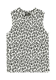Theory Leopard Print Shell Top