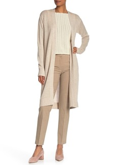Theory Linen & Cashmere Open Front Cardigan (Regular & Petite Sizing)