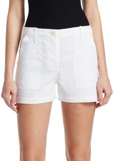 Theory Linen-Blend Cargo Shorts