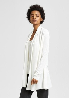 Theory Linen Open Front Cardigan