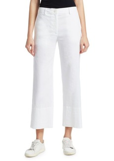Theory Linen Pull-On Pants