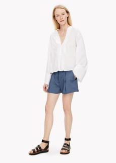 Theory Linen Shorts