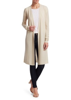 Theory Long Cashmere Cardigan