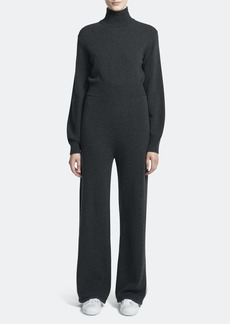 Theory Long Sleeve Full Length Turtleneck Jumpsuit - M - Also in: S, XS, L