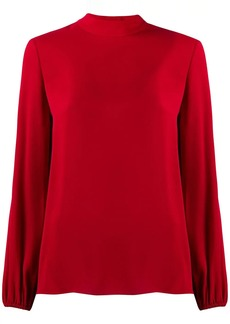 Theory loose-fit silk blouse