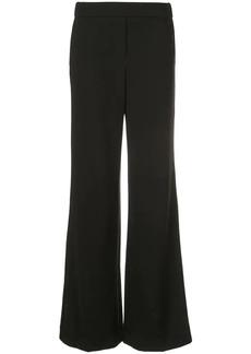Theory long wide leg trousers