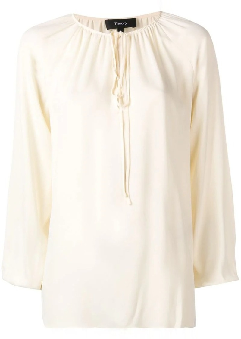 Theory loose fit blouse