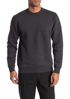 Theory Lunar Crew Neck Fleece Sweatshirt
