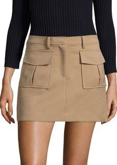 Theory Lupah Prospective Palomino Skirt