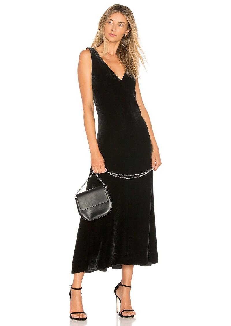 Theory Luxe Velvet Slip Dress