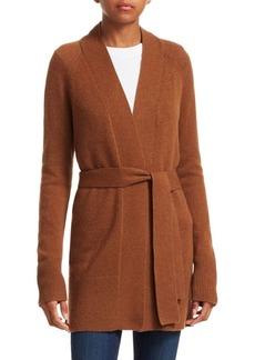 Theory Malinka Cashmere Knit Robe Cardigan