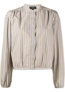 Theory mandarin collar shirt