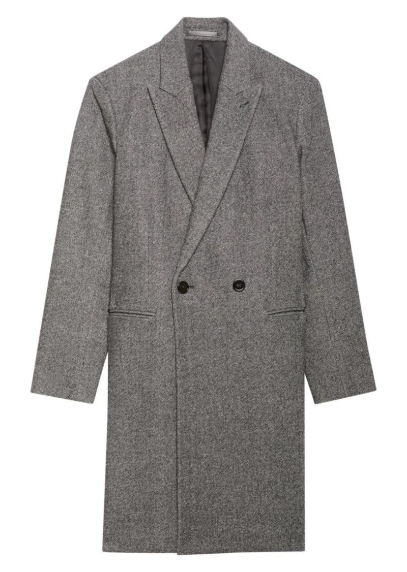 Theory Manroe Double Breasted Coat