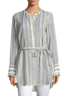 Theory Maraseille Striped Tunic