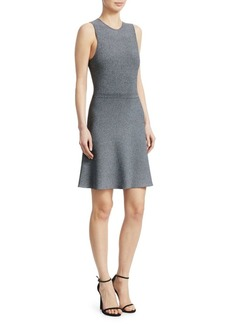 Theory Marl Sleeveless Cocktail Dress