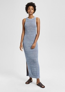Theory Marled Pointelle Tank Dress
