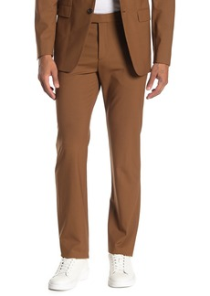 Theory Marlo Flat Front Stretch Wool Blend Pants