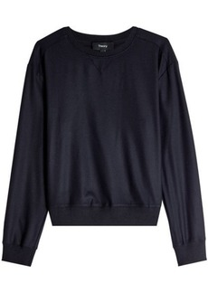Theory Masseur Virgin Wool Pullover