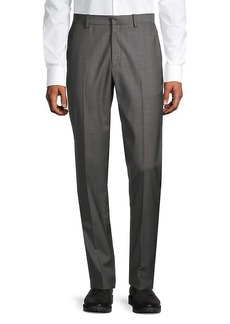 Theory Mayer Sharkskin Wool Trousers