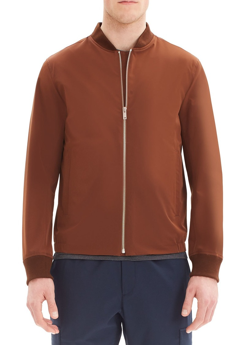 Theory Men's Amir Foundation Tech Bomber Jacket